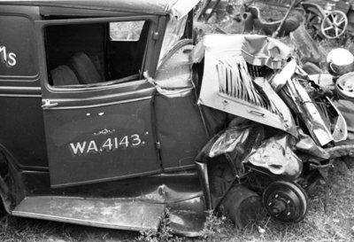 Car Wreck, August 1936