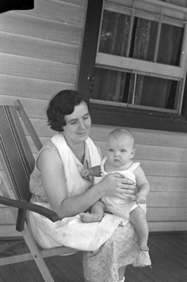 Unidentified Woman and Baby, c.1931