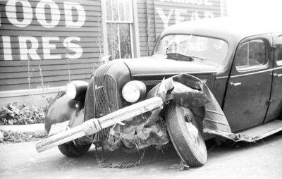 Car Wreck, c.1930