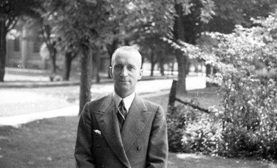 Unidentified Man, c. 1936