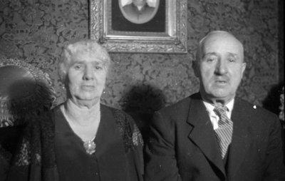 James and Alice Sawdon, January 1937