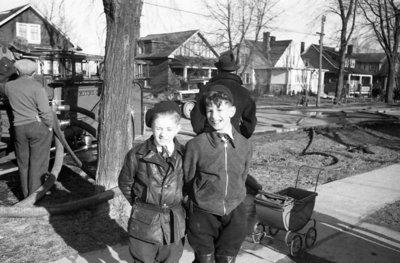 Holman Residence Fire, 1938