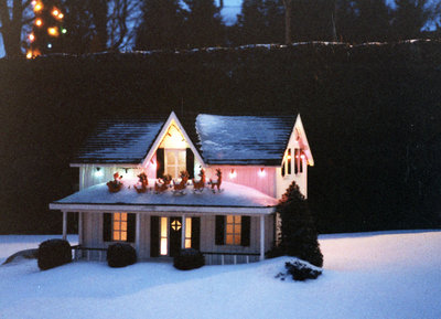 Christmas at the Miniature Village, December 1984