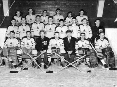 "Consumers Gas Minor Juvenile ""A"" Hockey Team, 1961"