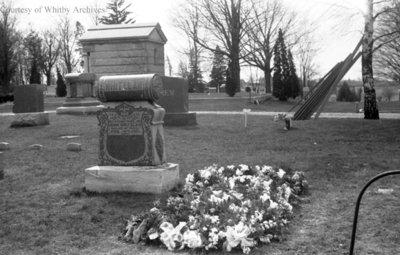 John Whitelaw Gravestone, April 22, 1941