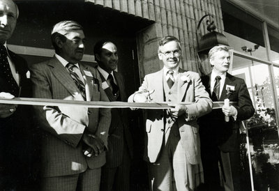 Official Opening of the Newly Expanded Nurse Chevrolet-Oldsmobile Dealership, September 24, 1980
