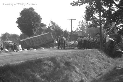 Martin Transport Accident, August 6, 1937