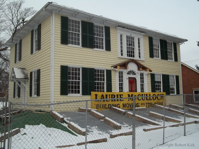 Relocation of the Jabez Lynde House, December 19, 2013