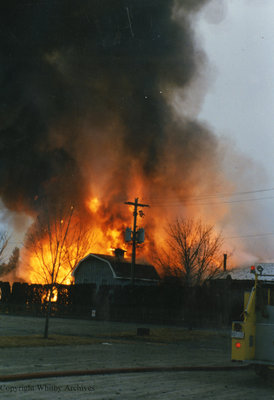 Cullen Gardens Village Restaurant and Gift Shop Fire, February 2, 1989