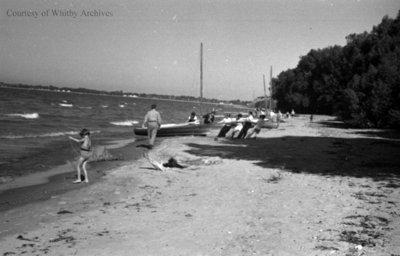 Whitby Beach, c.1936