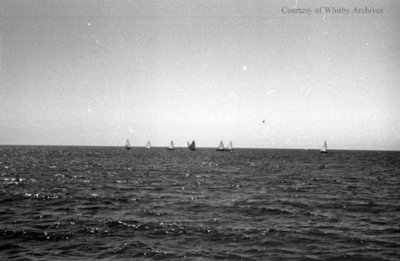 Sailing on Lake Ontario, c.1936