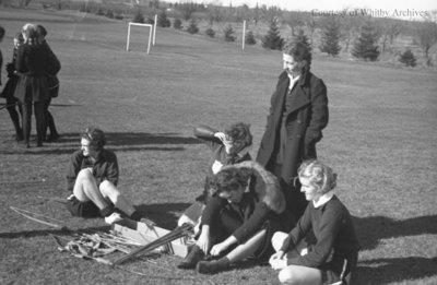 Ontario Ladies' College Archery, c.1936