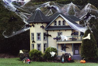 Halloween at the Miniature Village
