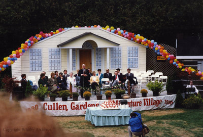 Cullen Gardens 10th Anniversary, May 1990