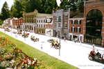 Main Street in the Miniature Village