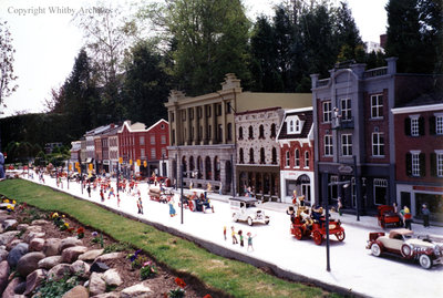 Parade on Main Street in the Miniature Village