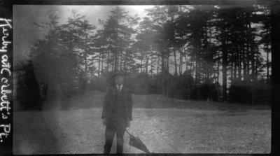 Kirby at Corbett's Point, c.1915