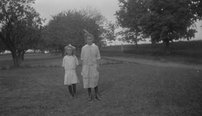 Two Unidentified Children, c.1915