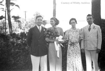 Hickson Wedding, June 1936