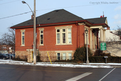Carnegie Library, January 2014