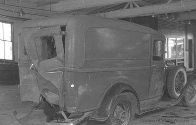 Truck Wreck, June 10, 1937