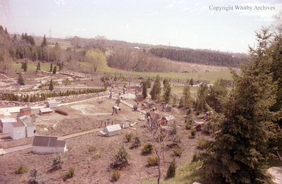 Miniature Village At Cullen Gardens, c.1979