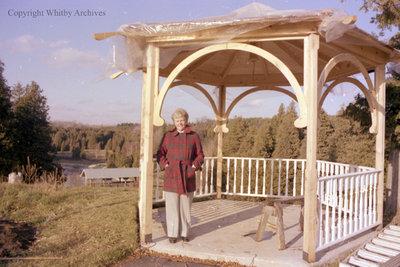 Gazebo Lookout At Cullen Gardens, c.1979