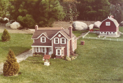 Farm in the Miniature Village
