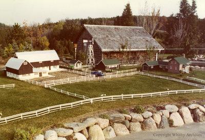 Dairy Farm in the Miniature Village