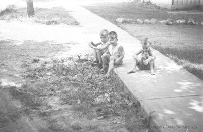 Unidentified Children, July 1936
