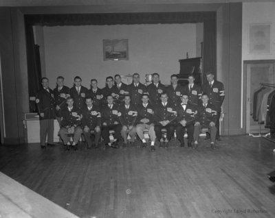 Whitby Stokers Baseball Team, 1955