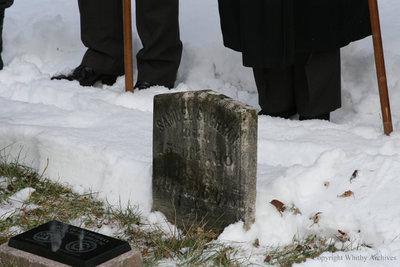 Samuel Cochrane War of 1812 Dedication Ceremony, December 2013