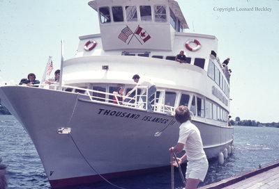 Thousand Islands Boat Tour, June 1976