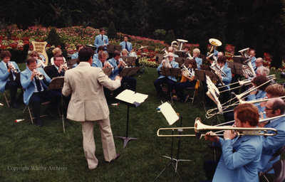 Whitby Brass Band at Cullen Gardens