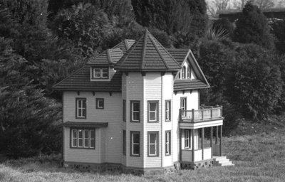 Yellow Clapboard Residence in the Miniature Village