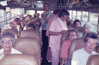 Bus Trip to Hamilton, June 1976