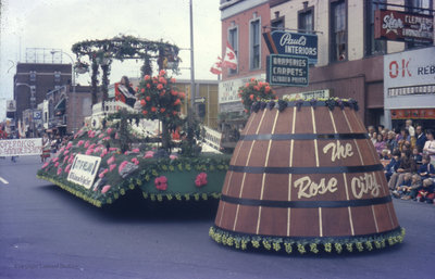 Parade in St. Catharines, October 1973