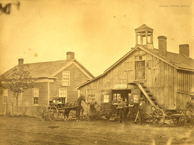 Unidentified House and Outbuilding