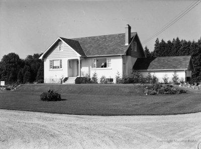 House on Highway 12, September 12, 1952