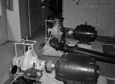 Pumps at the Power House, February 10, 1953