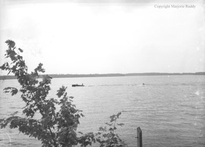 W.G. Ruddy and Family at Clear Lake, July 1956