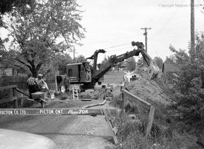 Sewer Project, June 16, 1953
