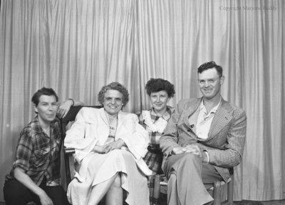 Norah Morrissey & Relatives, August 1950