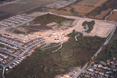 Aerial View of Whitby looking Northwest, October 7, 1998