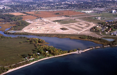 Aerial View of Whitby looking South, October 7, 1998