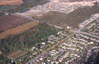 Aerial View of Cochrane Street, October 7, 1998