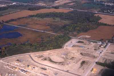 Aerial View of Whitby Shores, October 7, 1998