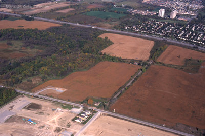 Aerial View of Whitby looking West, October 7, 1998