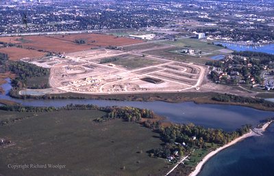 Aerial View of Whitby looking East, October 7, 1998