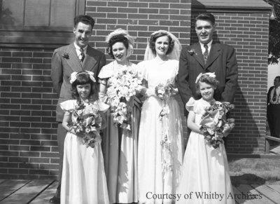 England Wedding, September 4, 1948